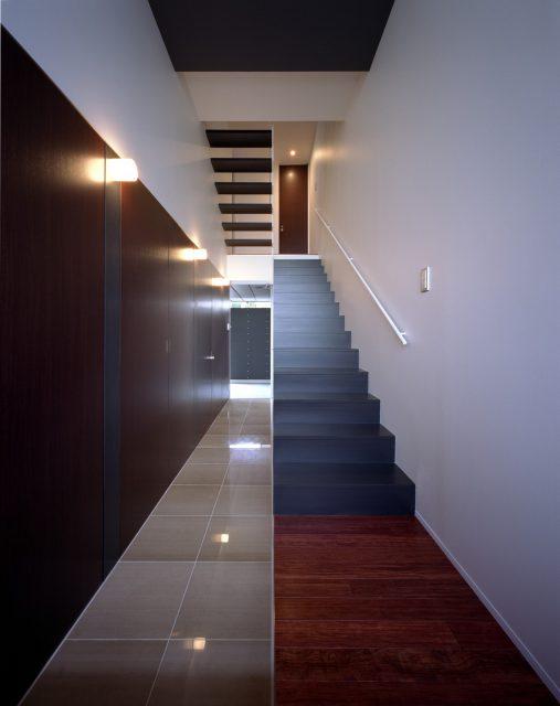 『スキップフロアの家』設計実績建築写真・竣工写真・インテリア写真2