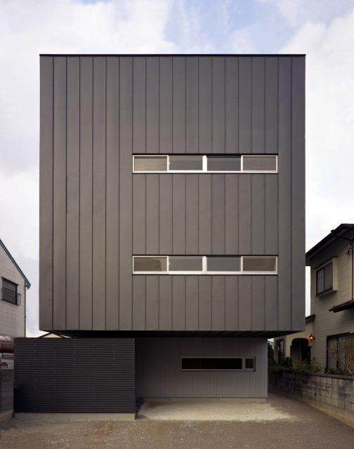 『スキップフロアの家』設計実績建築写真・竣工写真・インテリア写真1