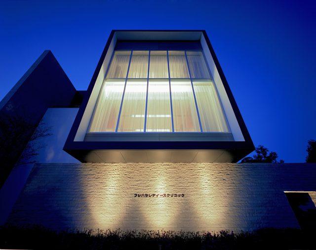 『フジハラレディースクリニック』設計実績建築写真・竣工写真・インテリア写真2