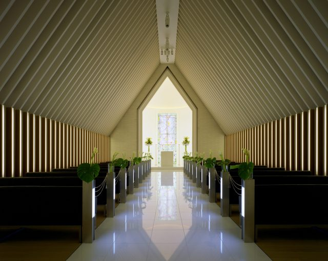 『ホテルオークラ福岡 チャペル』設計実績建築写真・竣工写真・インテリア写真3