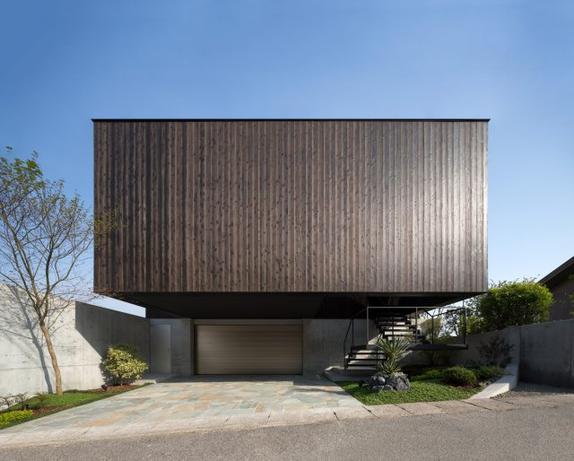 『桜島の住宅』設計実績建築写真・竣工写真・インテリア写真1