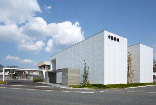 『中森眼科医院』設計実績建築写真・竣工写真・インテリア写真1
