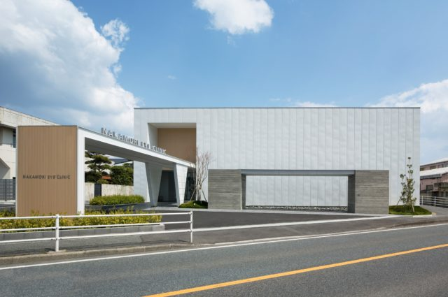 『中森眼科医院』設計実績建築写真・竣工写真・インテリア写真2