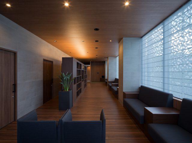 『上山レディースクリニック』設計実績建築写真・竣工写真・インテリア写真9
