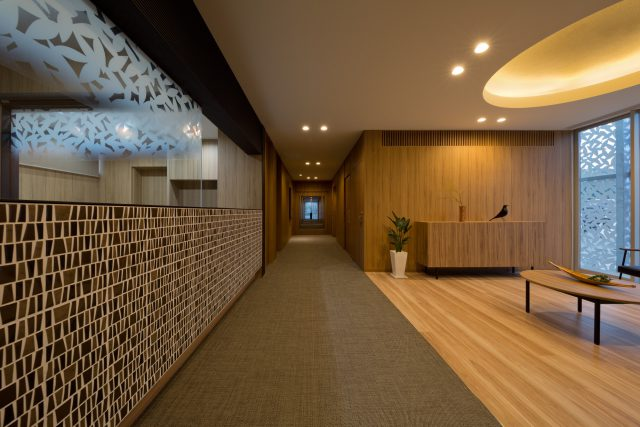 『上山レディースクリニック』設計実績建築写真・竣工写真・インテリア写真14