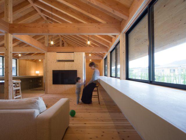 『大屋根の棲家』設計実績建築写真・竣工写真・インテリア写真14