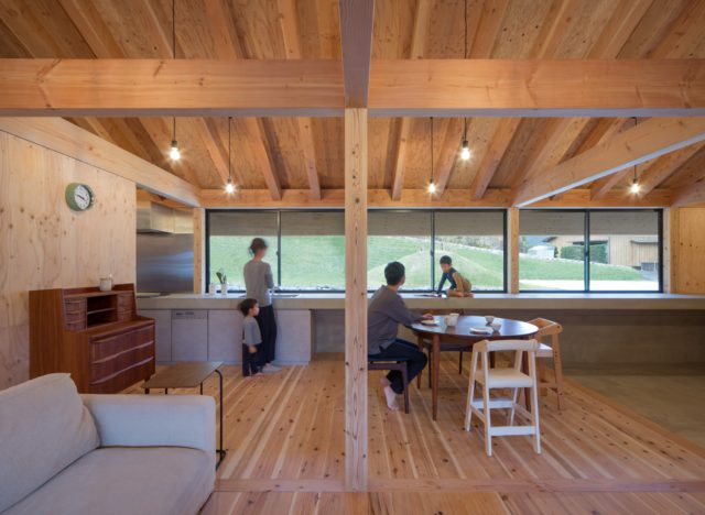 『大屋根の棲家』設計実績建築写真・竣工写真・インテリア写真12