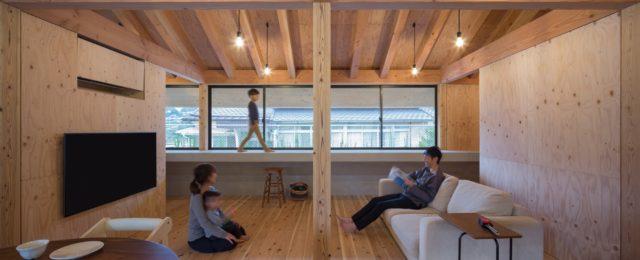 『大屋根の棲家』設計実績建築写真・竣工写真・インテリア写真13