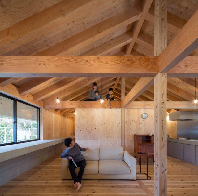 『大屋根の棲家』設計実績建築写真・竣工写真・インテリア写真18