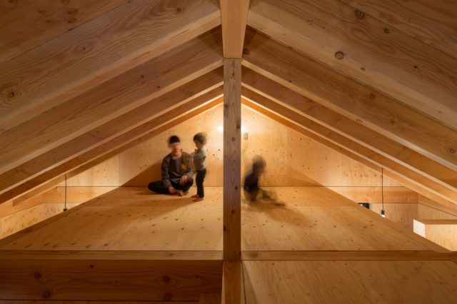 『大屋根の棲家』設計実績建築写真・竣工写真・インテリア写真19