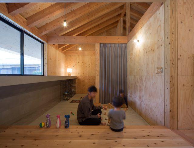 『大屋根の棲家』設計実績建築写真・竣工写真・インテリア写真11