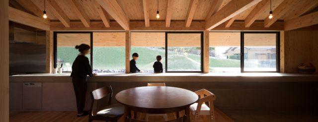 『大屋根の棲家』設計実績建築写真・竣工写真・インテリア写真15