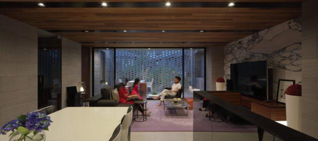 『AKASAKA Residence』設計実績建築写真・竣工写真・インテリア写真9