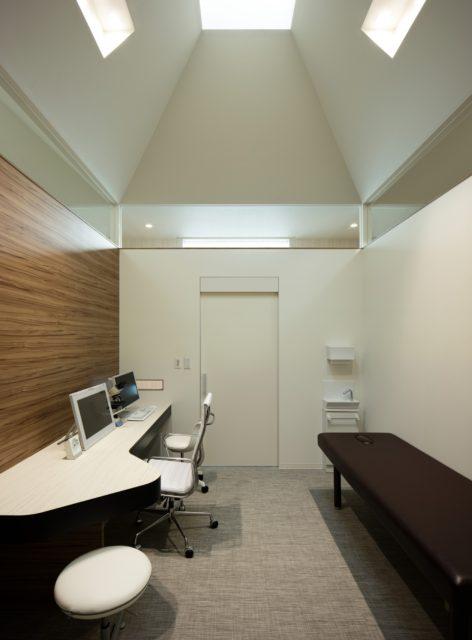 『いちみや皮フ科クリニック』設計実績建築写真・竣工写真・インテリア写真14