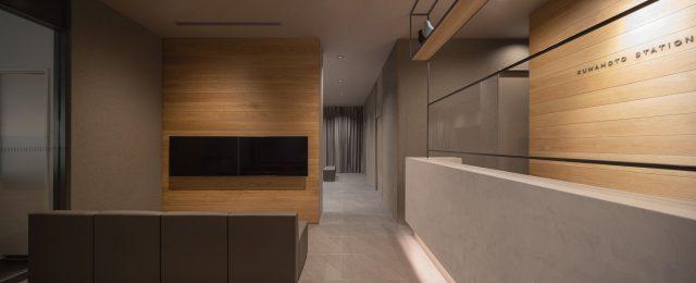 『熊本ステーション眼科』設計実績建築写真・竣工写真・インテリア写真3